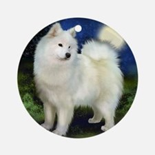 samoyed10 Round Ornament