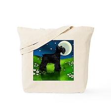 schnauzer moon Tote Bag