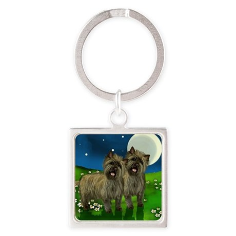 cairn moon Square Keychain