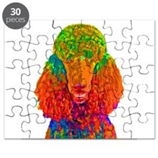 Psychadelic Poodle Puzzle