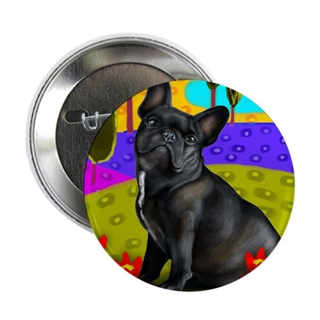 "frenchblackbulldog pillow 2.25"" Button"