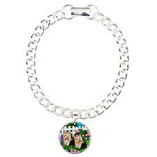 yorkie garden Charm Bracelet, One Charm