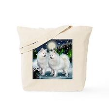 samoyed mountinedogs copy Tote Bag