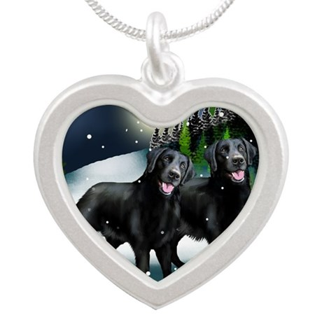 mountine LABS Silver Heart Necklace