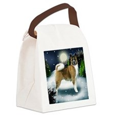 mountinedogs AKITA Canvas Lunch Bag
