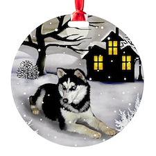 winterhouse SH Round Ornament