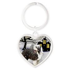 winterhouse bc Heart Keychain