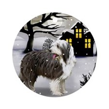 winterhouse bc Round Ornament