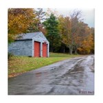 Autumn Road<br> Decorative Tile