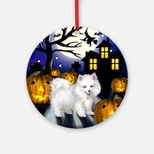 halloween copy Round Ornament