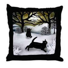 WS BCATS Throw Pillow
