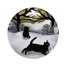 WS BCATS Round Ornament