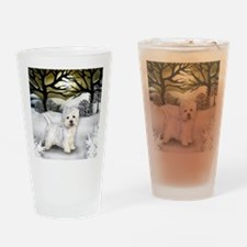 WS WHT Drinking Glass