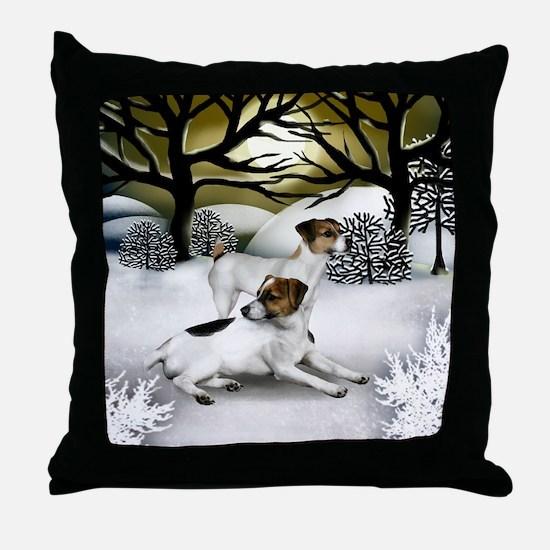 WS JRT Throw Pillow