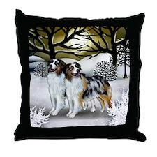 3-WS AS Throw Pillow