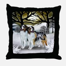 3-WS AS Throw Pillow