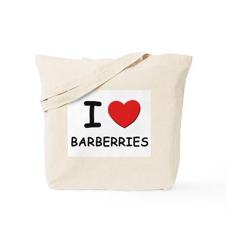 I love barberries Tote Bag