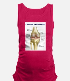 acl knee.png Maternity Tank Top