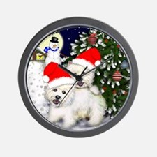 WHT SANTA Wall Clock