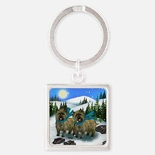 cairn snows Square Keychain