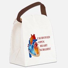 Heart7.png Canvas Lunch Bag