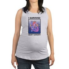 Heart8.png Maternity Tank Top