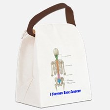 Back surgery.png Canvas Lunch Bag