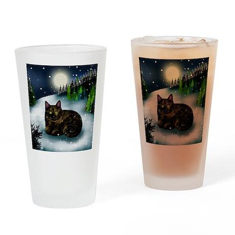 WM tcat Drinking Glass