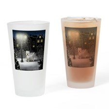 WC WHT Drinking Glass