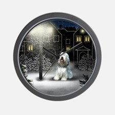 WC BCOLLIE copy Wall Clock