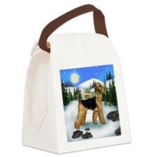 WD AT copy Canvas Lunch Bag