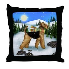 WD AT copy Throw Pillow