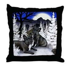 WM FB Throw Pillow