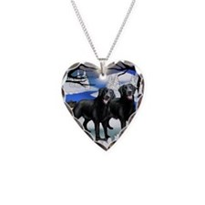 FR BLR Necklace Heart Charm