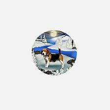 fr beagle Mini Button