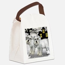 WSNAUZER Canvas Lunch Bag