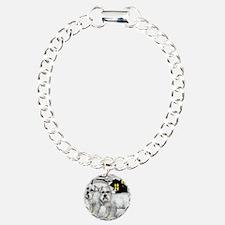 WSNAUZER Charm Bracelet, One Charm