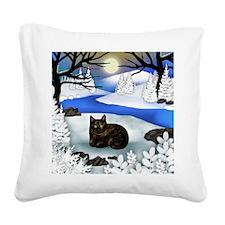 FR TCAT Square Canvas Pillow
