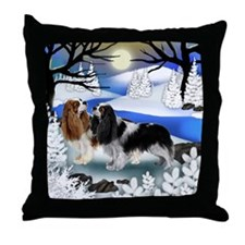 FR CKCS Throw Pillow