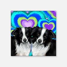 """love bc Square Sticker 3"""" x 3"""""""