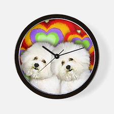 love bf Wall Clock