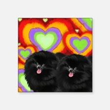 "love bp Square Sticker 3"" x 3"""
