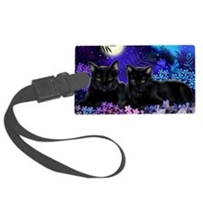 cats copy Luggage Tag