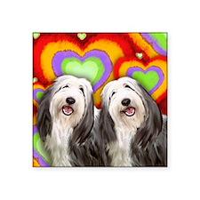 """LOVE BCOL Square Sticker 3"""" x 3"""""""