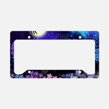 cats copy License Plate Holder