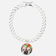 LOVE BCOL Charm Bracelet, One Charm