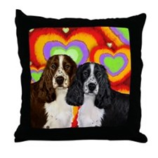 LOVE ESS Throw Pillow