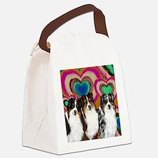 love asd Canvas Lunch Bag