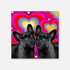 """LOVE FB Square Sticker 3"""" x 3"""""""