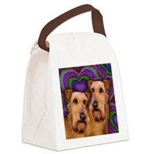 love AT Canvas Lunch Bag